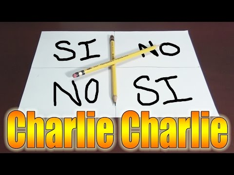 MI GRAN AMIGO CHARLIE - Charlie Charlie Challenge | Fernanfloo