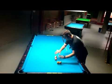 How to run balls on 14.1(Straight Pool).