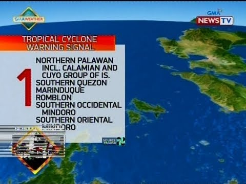 QRT: Weather update as of 5:59 p.m. (December 28, 2018)