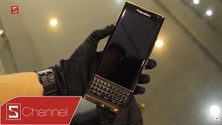 Schannel - Mở hộp và trên tay BlackBerry Priv mạ vàng 24K: Vẻ đẹp đến từ sự đẳng cấp