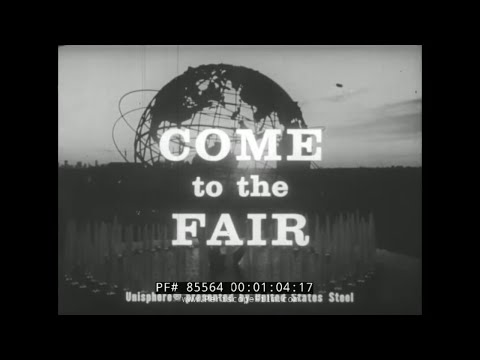"1964 NEW YORK WORLD'S FAIR PROMOTIONAL MOVIE  ""COME TO THE FAIR""  PIETA  85564"