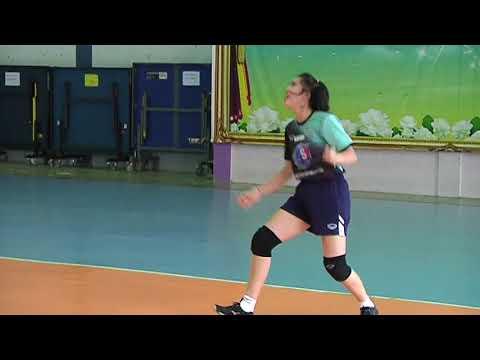 21 05 2561 ทีมชาติไทยซ้อม @SMM 12th Asian Est Cola Women's U17 Volleyball Championship