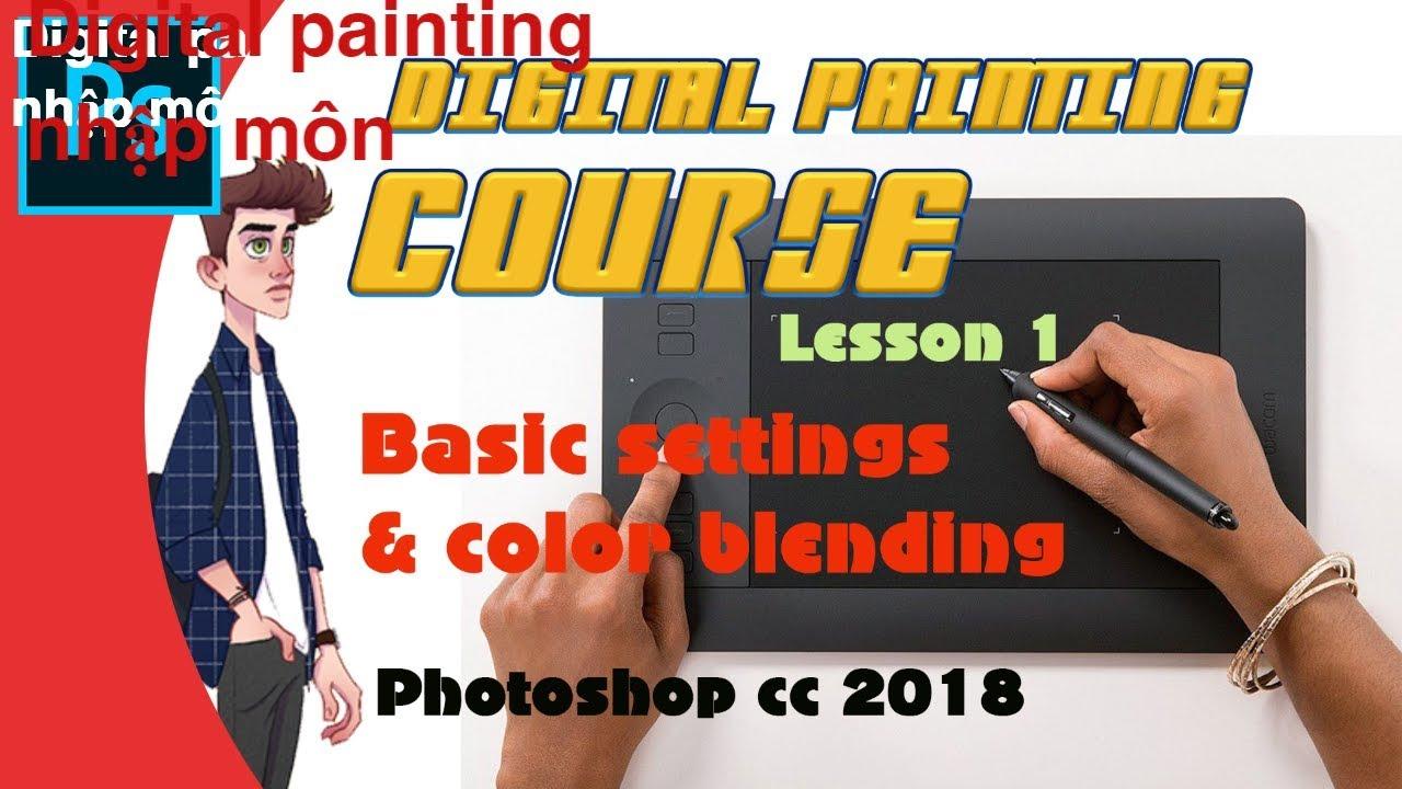 (30 phút Digital painting)- Lesson 1 Làm quen với công cụ – Chưa từng được chia sẻ❤️💯