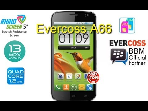 Evercoss A66 Hp Android QuadCore Kamera 13 MP Harga Terbaru