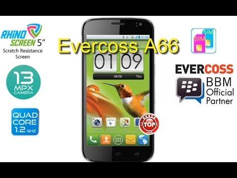 Evercoss A66 Hp Android QuadCore Kamera 13 MP Harga Terbaru