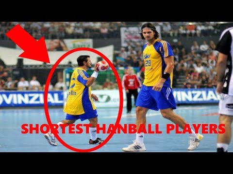 SHORTEST HANDBALL PLAYERS
