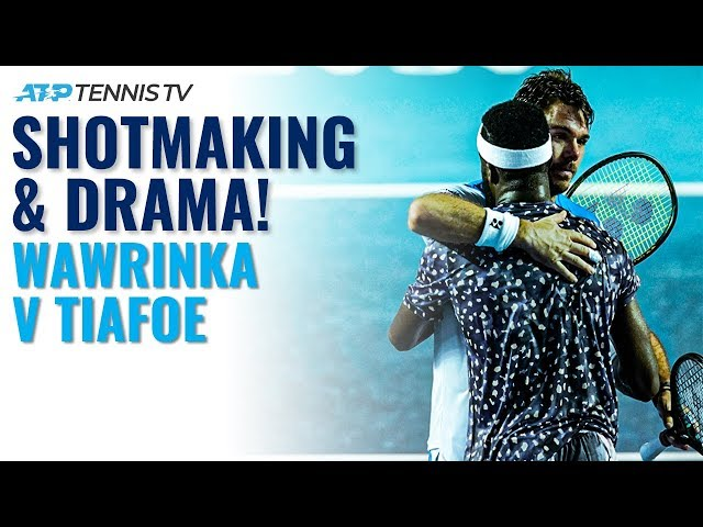 Stan Wawrinka vs Frances Tiafoe: Incredible Shotmaking and Drama! | Acapulco 2020 Highlights