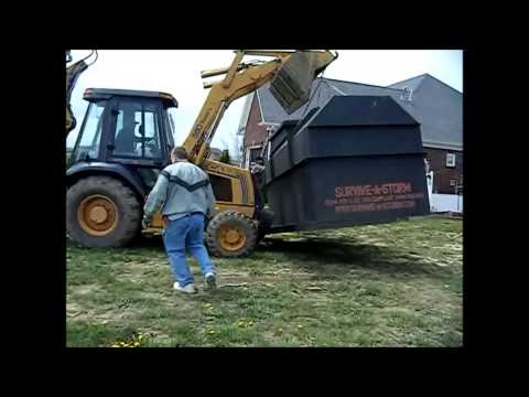 Survive-A-Storm Shelter Install