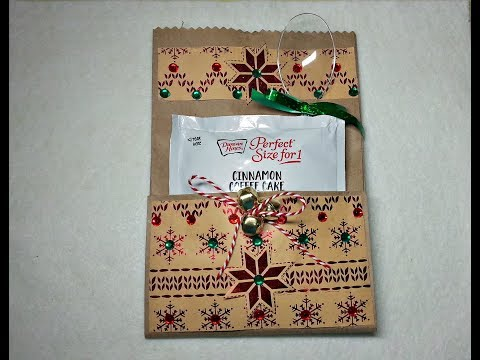 DIY~Cake In A Mug Gift Packets For Christmas Craft Fairs! Cute & Inexpensive!