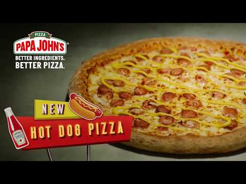 Aaron Zytle - Papa John's South Korea Debuts 'American Hot Dog Pizza'