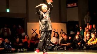 DANCE@LIVE 2013 Kansai CHARISMAX FREESTYLE【SEMIFINAL】SHUHO vs IBUKI