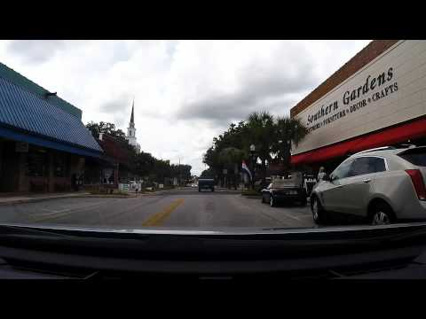 Driving Downtown Leesburg FL