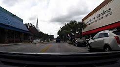 Driving Downtown Leesburg FL