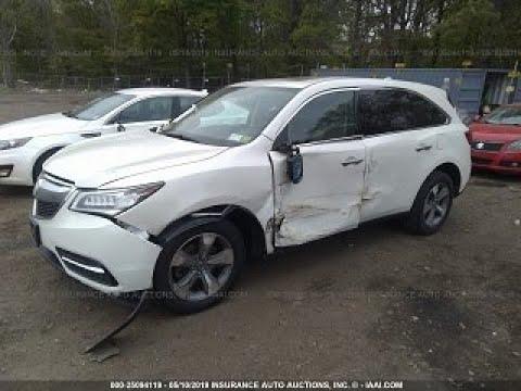 Acura MDX Кузовной ремонт в Армении/Body Repair In Armenia