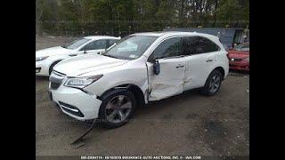 Acura MDX Кузовний ремонт у Вірменії/Body repair in Armenia