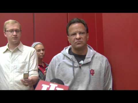 Indiana Basketball Head Coach Tom Crean 10/1/15