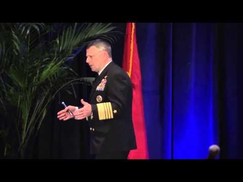 Commander, U S Fleet Forces Command Adm Bill Gortney speak to Surface Navy Association