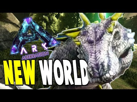 Ark Aberration, New World & Creatures | ARK Survival Evolved Aberration Let's Play Gameplay PC | E1