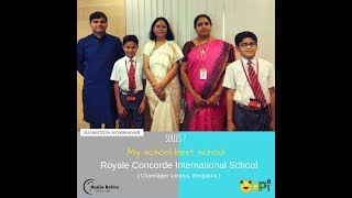 My School Best School - Series 7 - RCIS Chamrajpet, Bengaluru