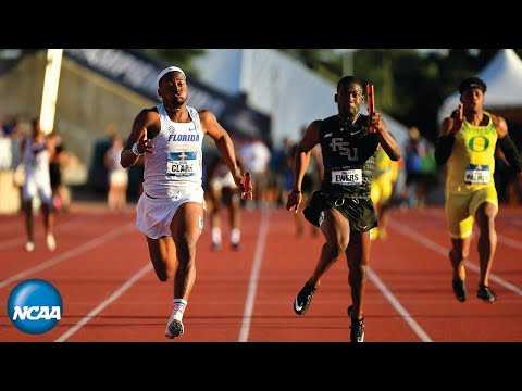 Florida's record-breaking 4×100-meter relay at 2019 NCAA Outdoor Track & Field Championships