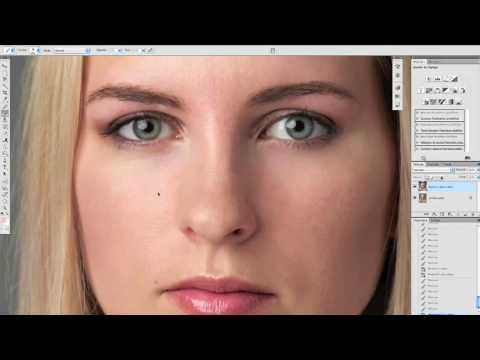 Retoucher un visage avec adobe photoshop CC 2017 - YouTube