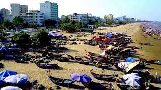 111/315. Xuyên Việt : Bãi biển Sầm Sơn chiều ngày chủ nhật, Thanh Hóa 04/6/2017