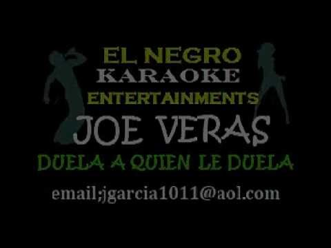 JOE VERAS, Duelale A Quien Le Duela by ENCE - KARAOKE.wmv