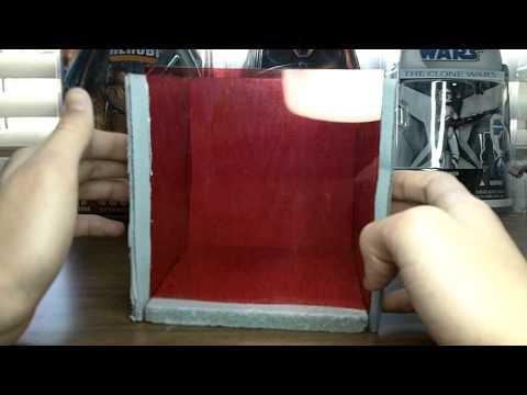 Custom Mini Diorama Display...Republic Prison Cell