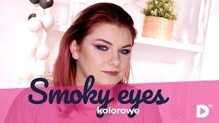 🌈 Kolorowe Smoky Eyes Tutorial 👄 | MAKEUP DOMODI TV