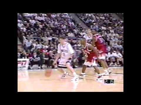 Jan. 17, 1996 - #5 UConn vs. St. John's Highlights