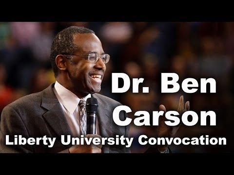 Ben Carson - Liberty University Convocation