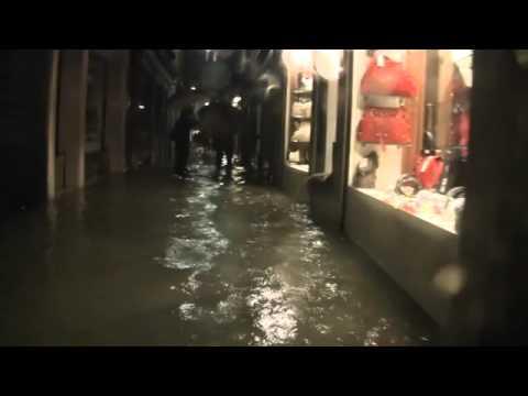 Acqua alta 31 ottobre 2012