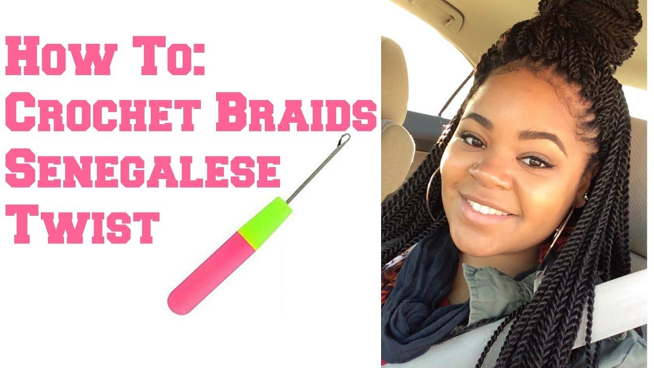 How To Crochet Braids Senegalese Twist Step By Step Braid