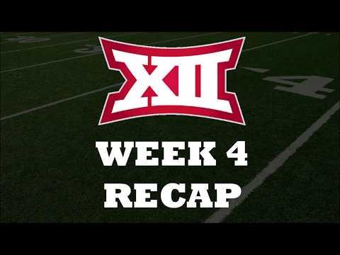 Big 12 Week 4 College Football Recap
