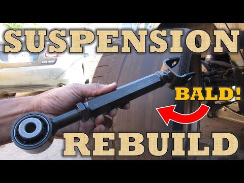 How to Replace Control Arms, Ball Joints, Tie Rods and Stabilizer Links on a LOWERED car!