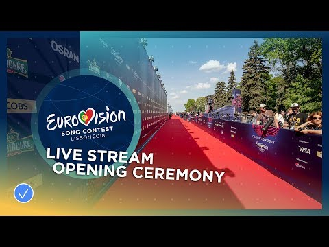 Eurovision Song Contest 2018 – Opening Ceremony (Blue Carpet) – LIVE