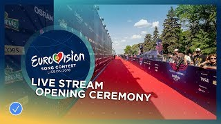 Eurovision Song Contest 2018 - Opening Ceremony (Blue Carpet) - LIVE