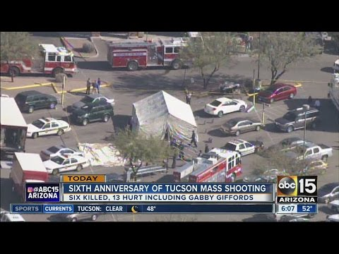 Sixth anniversary of mass shooting in Tucson