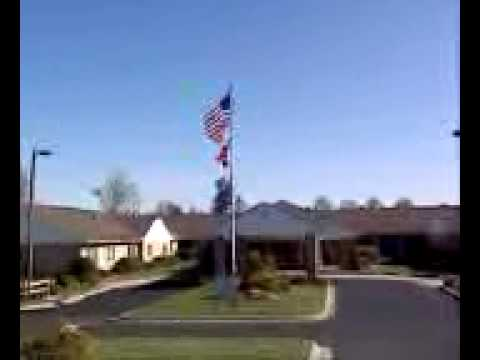 Hendersonville Health & Rehab. Flat Rock NC is proud to fly their flag! Support l