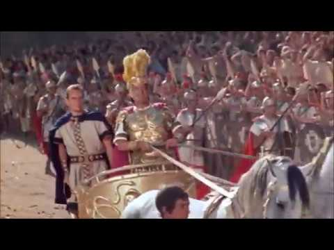 The triumph of Quintus Arrius in Rome, Emperor Tiberius officiating