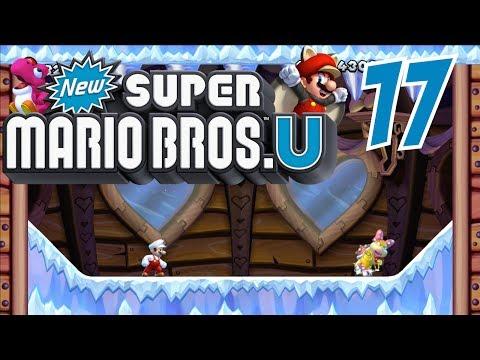 SUPER MARIO BROS U [HD] Part 17: Geisterhaus, Ei der Daus! ♨ Let's Play New Super Mario Bros U