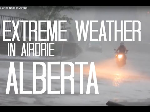 Extreme Weather Conditions In Airdrie
