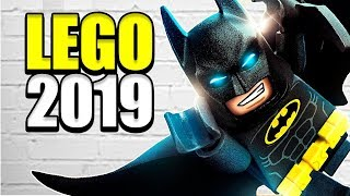 LEGO наборы Мстители 4: Финал / LEGO Batman Фильм 2 / LEGO 2019