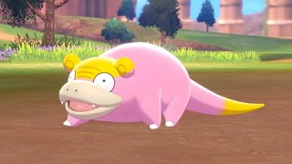 Pokemon Sword and Shield Shiny Hunt Galar Slowpoke