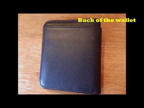 78c4ab169fd7 RFID Blocking Bi-fold Men's Wallet by Falcon Vault - YouTube