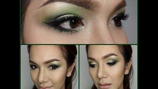 Bright Emerald MakeUp Tutorial แต่งตาสีเขียวมรกตสดใส Thumbnail
