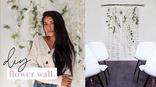 Diy Flower Wall Backdrop | How To Make A Diy Wedding Flower Wall (for Only $60)
