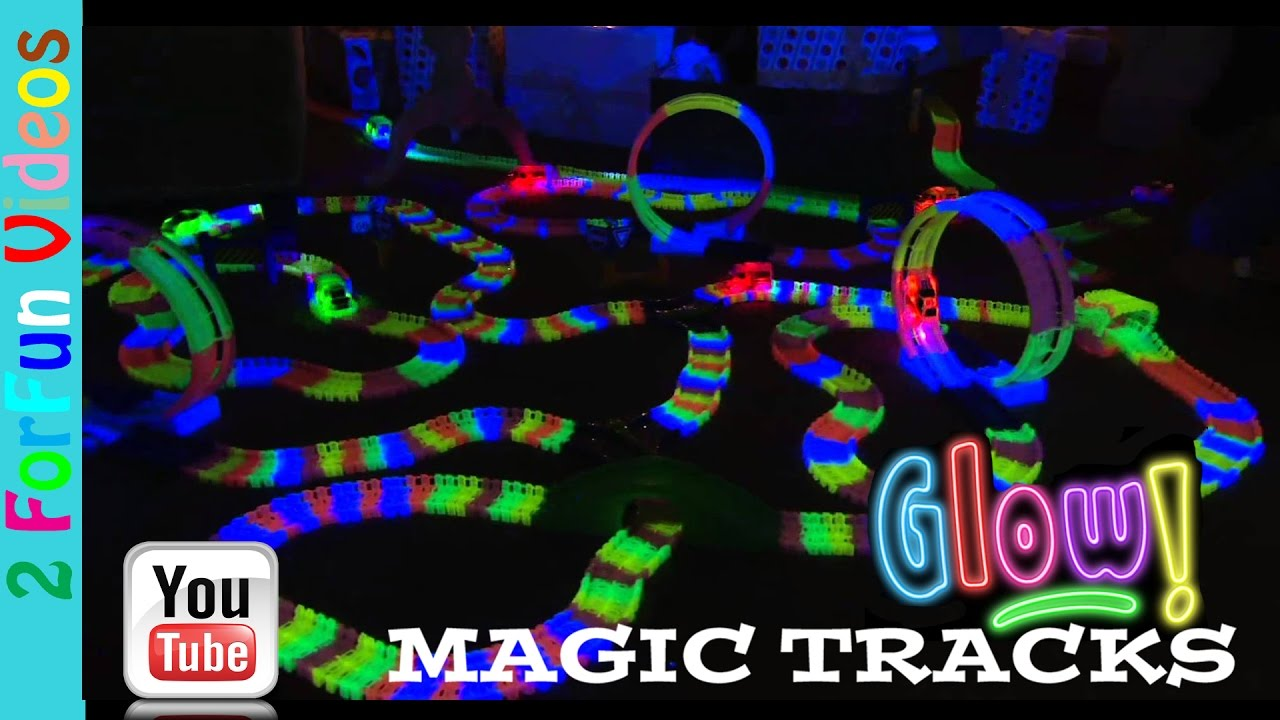 magic tracks glow in the dark as seen on tv youtube. Black Bedroom Furniture Sets. Home Design Ideas