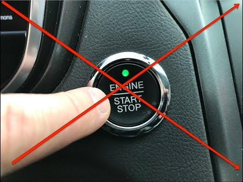 What happens if you push the button WHILE driving ? ( Don't try this in your own car )