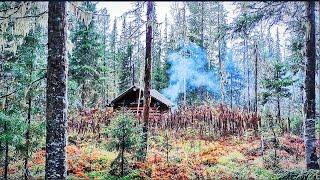 В ТАЙГУ НА НЕДЕЛЮ Рыбалка на таёжной реке в Сибири Хариус Ленок Изба охотника